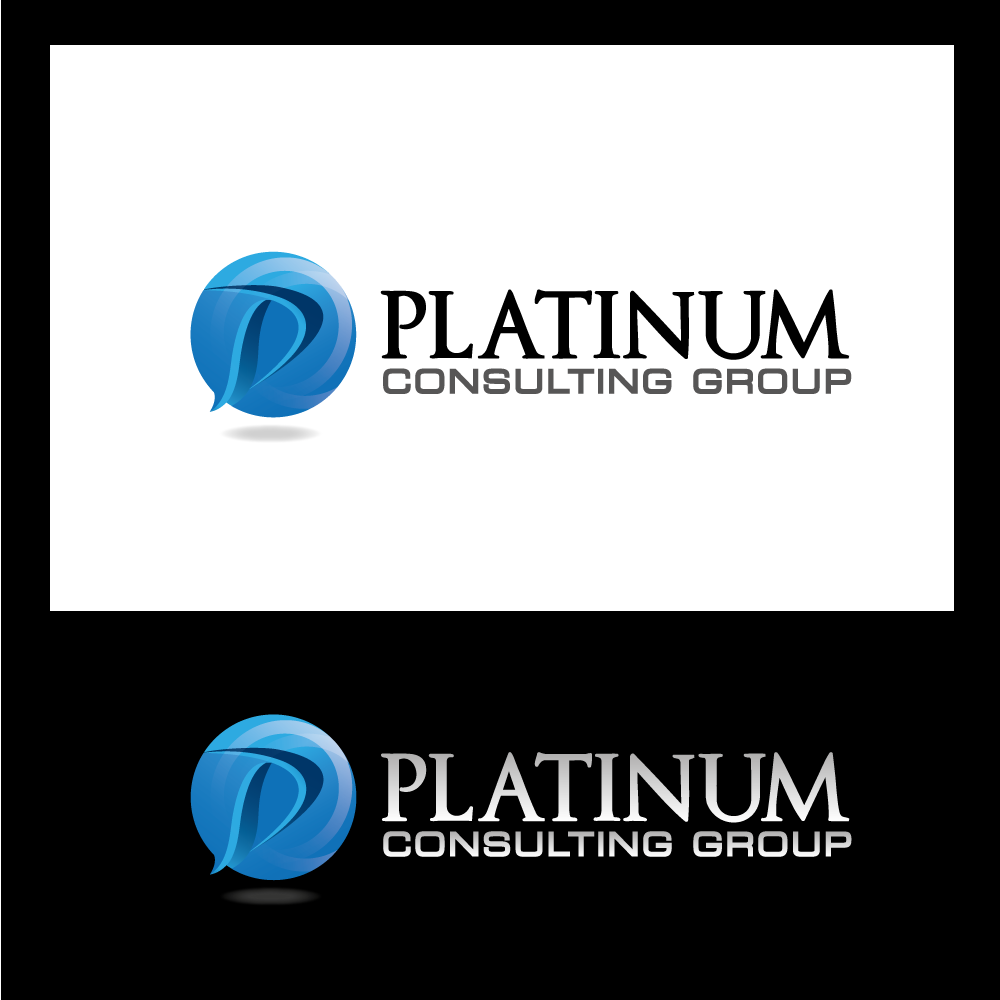 Logo Design by rockin - Entry No. 56 in the Logo Design Contest Captivating Logo Design for Platinum Consulting Group.