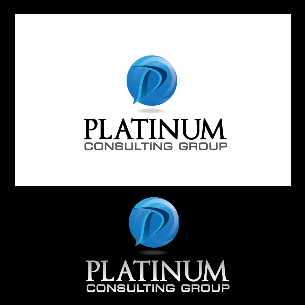 Logo Design by rockin - Entry No. 57 in the Logo Design Contest Captivating Logo Design for Platinum Consulting Group.