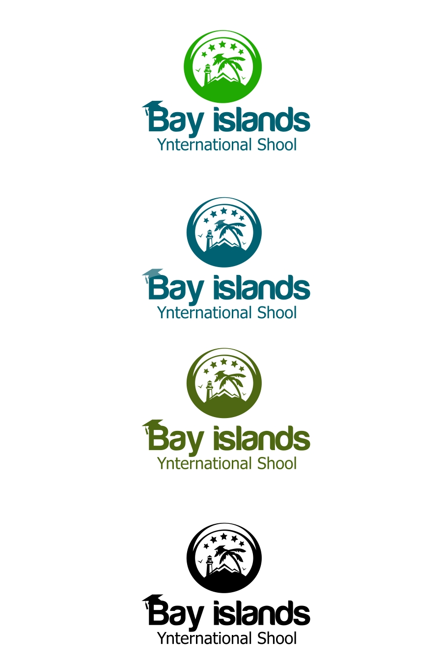 Logo Design by Private User - Entry No. 64 in the Logo Design Contest Creative Logo Design for Bay Islands International School.