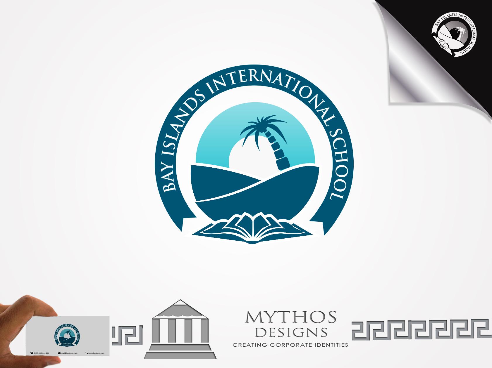 Logo Design by Mythos Designs - Entry No. 65 in the Logo Design Contest Creative Logo Design for Bay Islands International School.