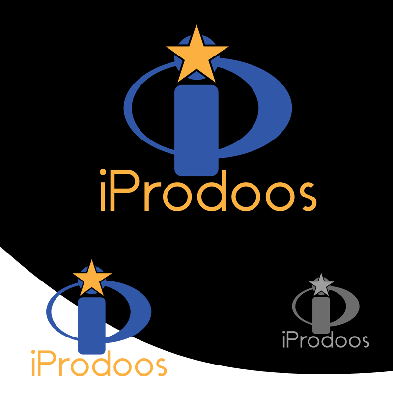 Logo Design by Robert Turla - Entry No. 20 in the Logo Design Contest New Logo Design for iProdoos.