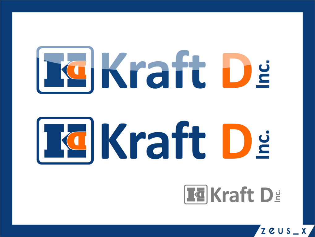 Logo Design by Ngepet_art - Entry No. 329 in the Logo Design Contest Unique Logo Design Wanted for Kraft D Inc.