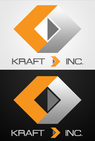 Logo Design by Private User - Entry No. 342 in the Logo Design Contest Unique Logo Design Wanted for Kraft D Inc.