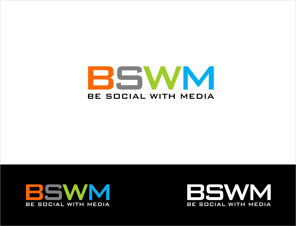 Logo Design by haidu - Entry No. 2 in the Logo Design Contest Imaginative Logo Design for Be Social With Media.