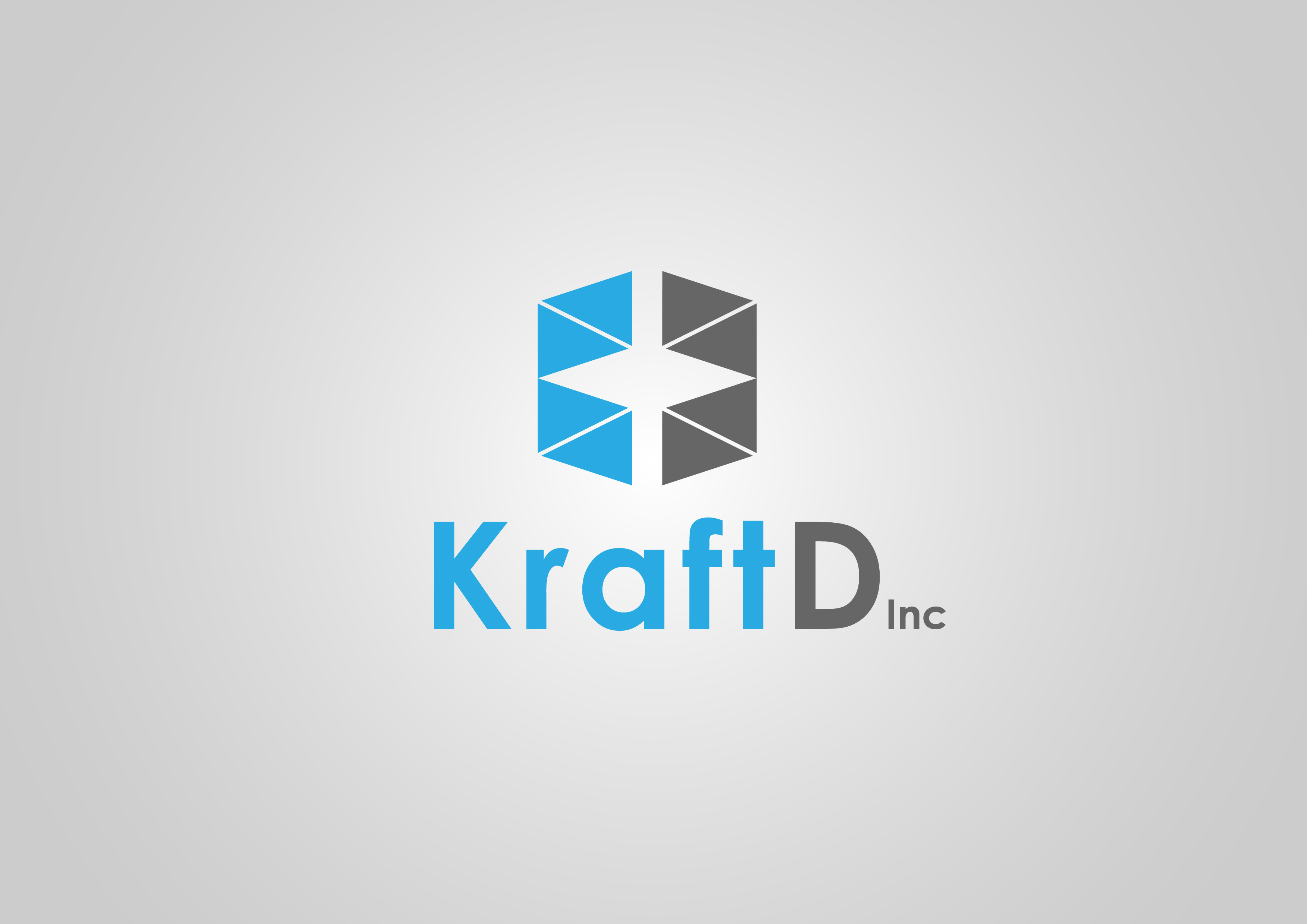Logo Design by 3draw - Entry No. 348 in the Logo Design Contest Unique Logo Design Wanted for Kraft D Inc.