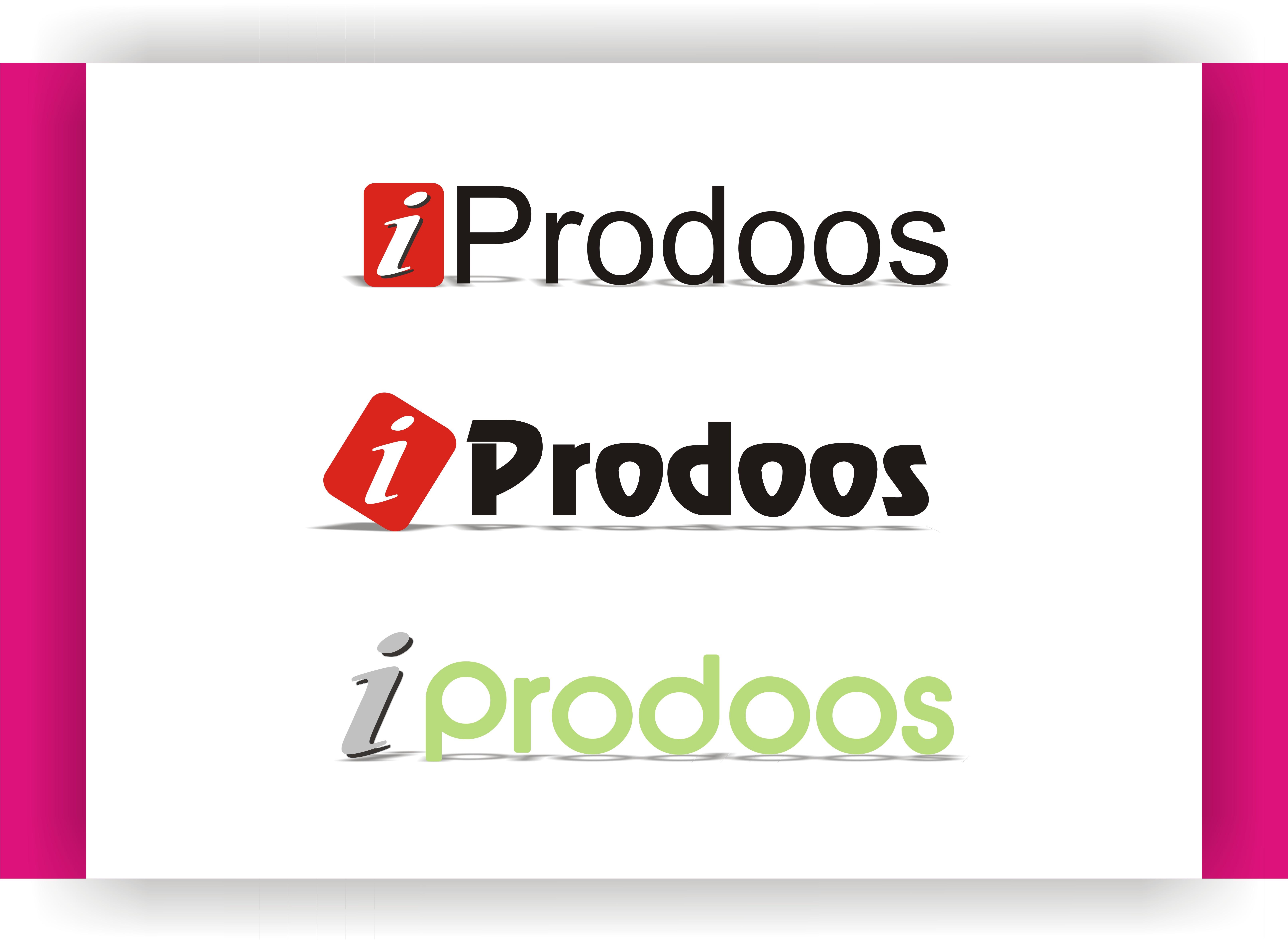 Logo Design by Shailender Kumar - Entry No. 24 in the Logo Design Contest New Logo Design for iProdoos.