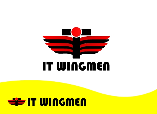 Logo Design by Ismail Adhi Wibowo - Entry No. 7 in the Logo Design Contest New Logo Design for IT Wingmen.