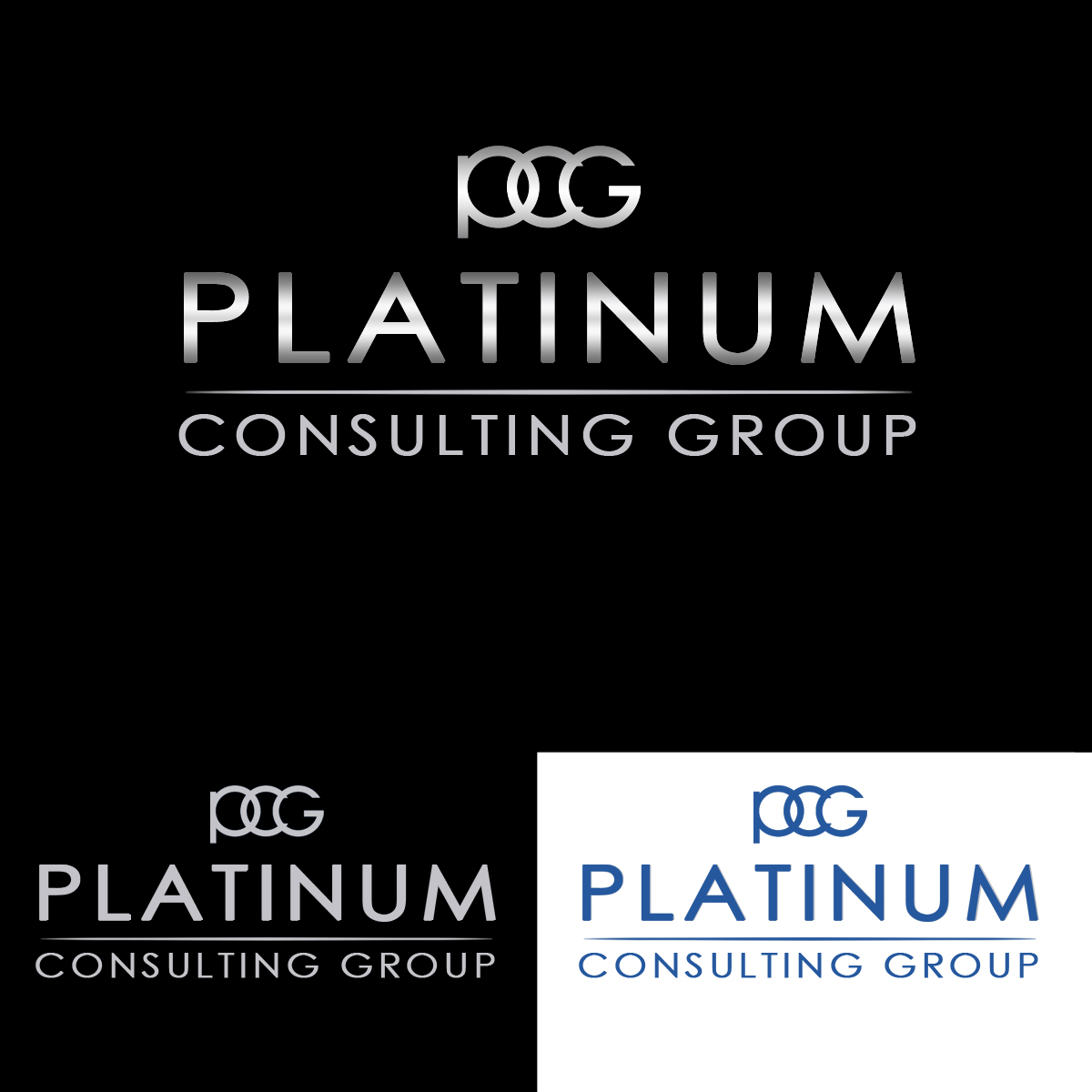 Logo Design by Private User - Entry No. 64 in the Logo Design Contest Captivating Logo Design for Platinum Consulting Group.