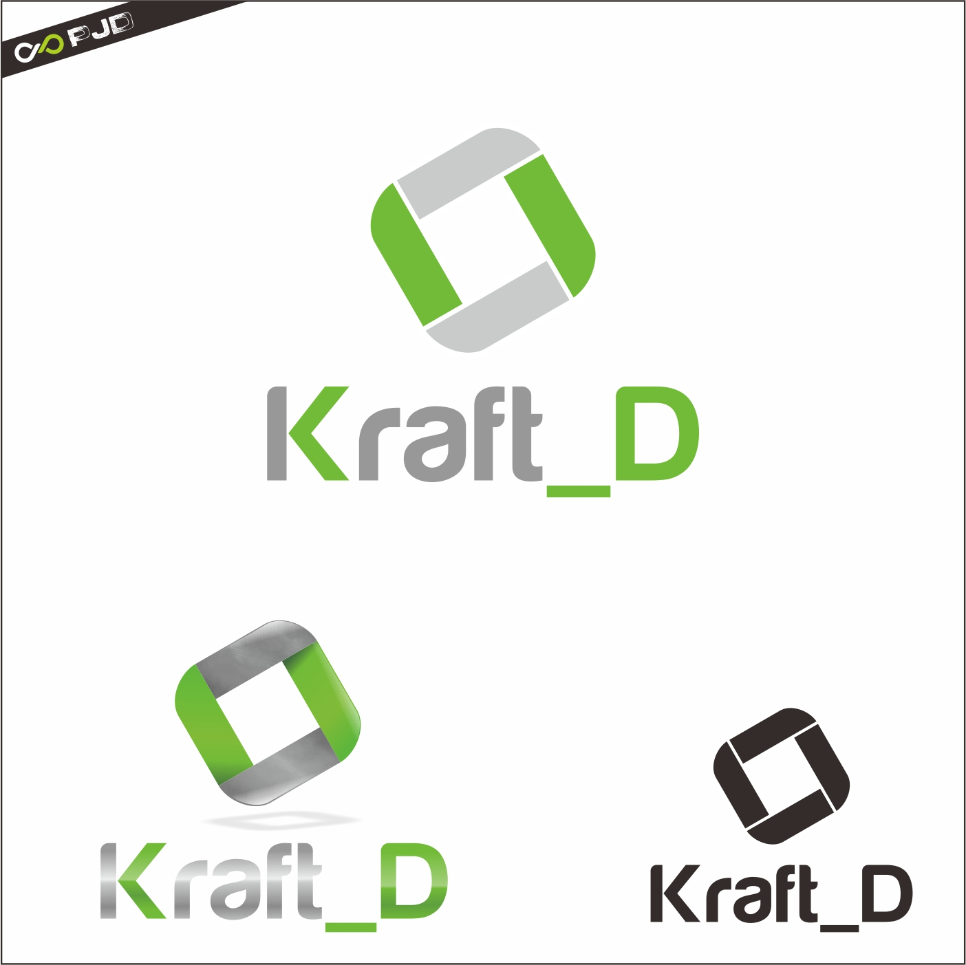 Logo Design by PJD - Entry No. 351 in the Logo Design Contest Unique Logo Design Wanted for Kraft D Inc.