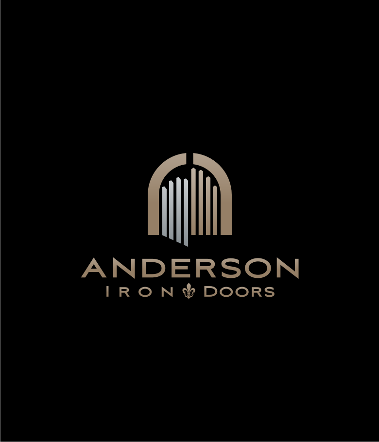 Logo Design by graphicleaf - Entry No. 50 in the Logo Design Contest Artistic Logo Design for Anderson Iron Doors.