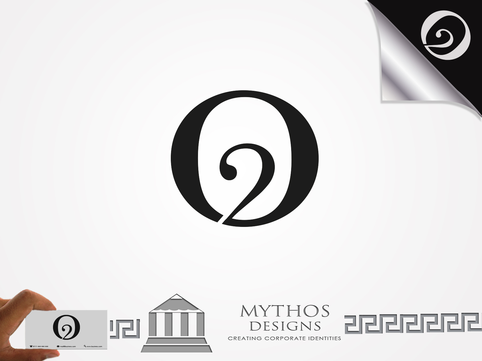Logo Design by Mythos Designs - Entry No. 23 in the Logo Design Contest Artistic Logo Design for O2.