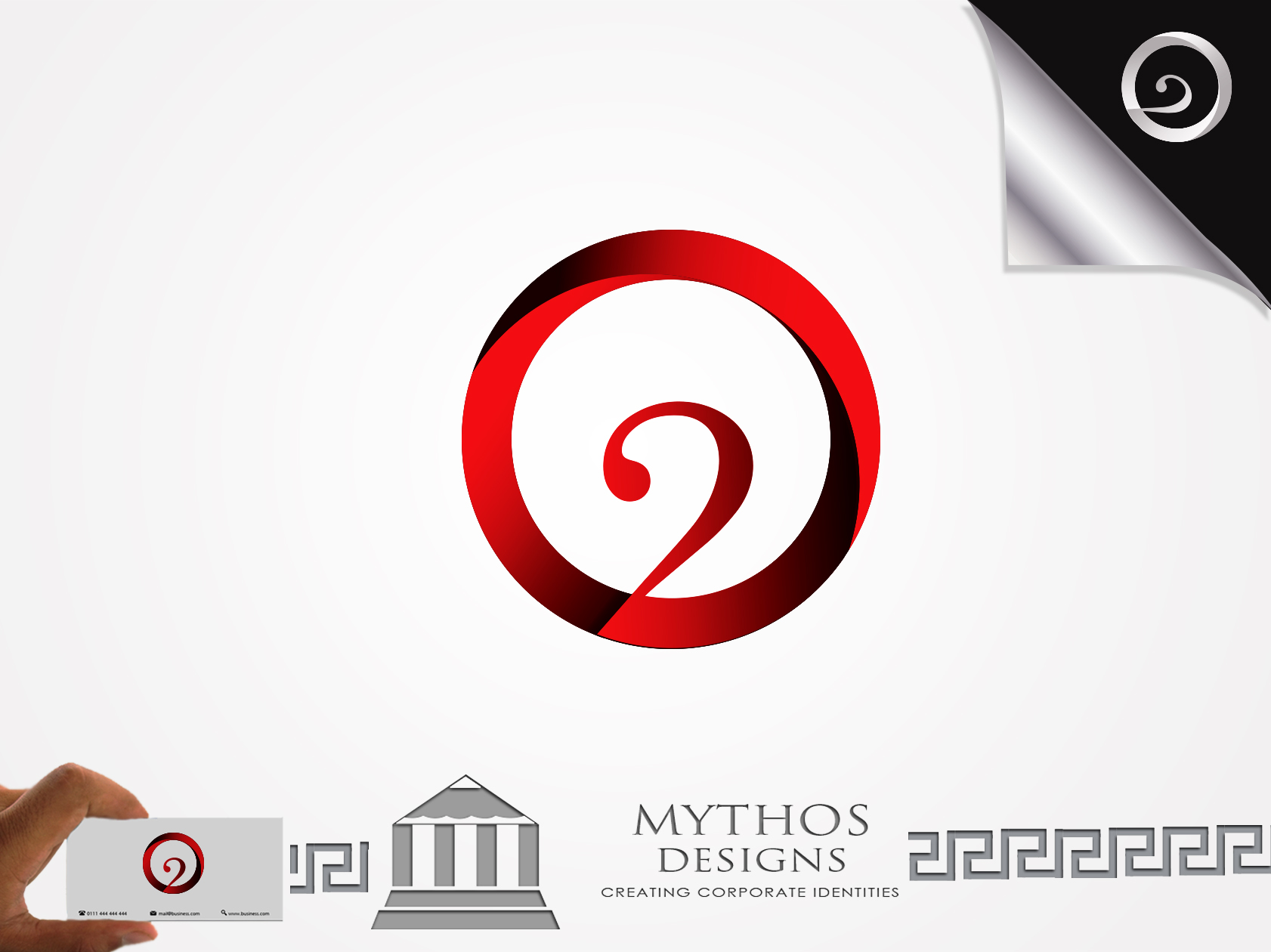 Logo Design by Mythos Designs - Entry No. 24 in the Logo Design Contest Artistic Logo Design for O2.