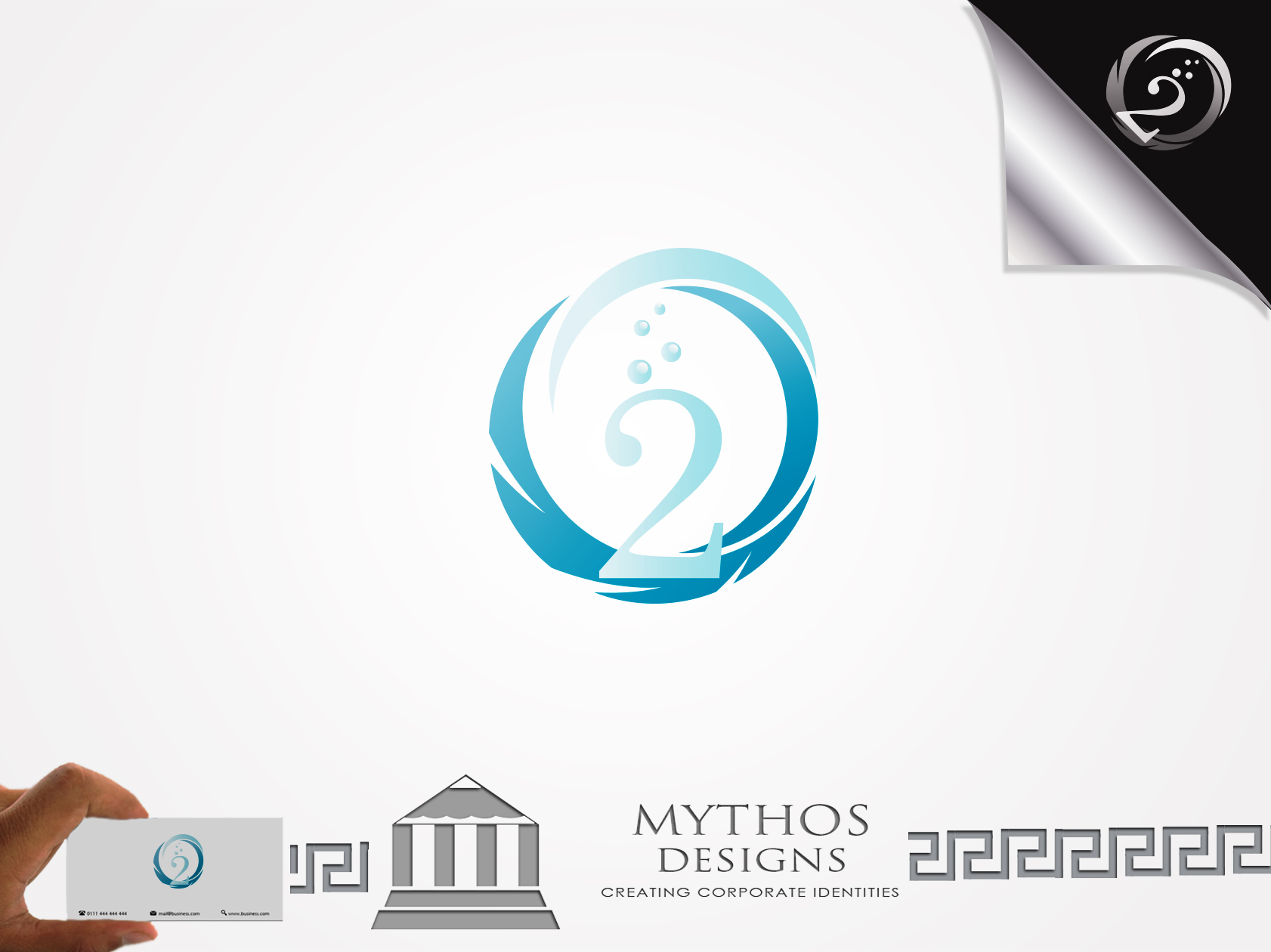 Logo Design by Mythos Designs - Entry No. 25 in the Logo Design Contest Artistic Logo Design for O2.