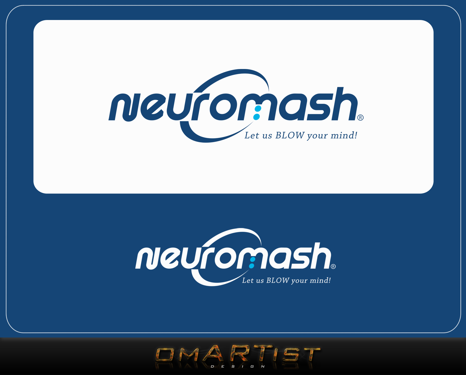 Logo Design by omARTist - Entry No. 4 in the Logo Design Contest Unique Logo Design Wanted for NeuroMash.