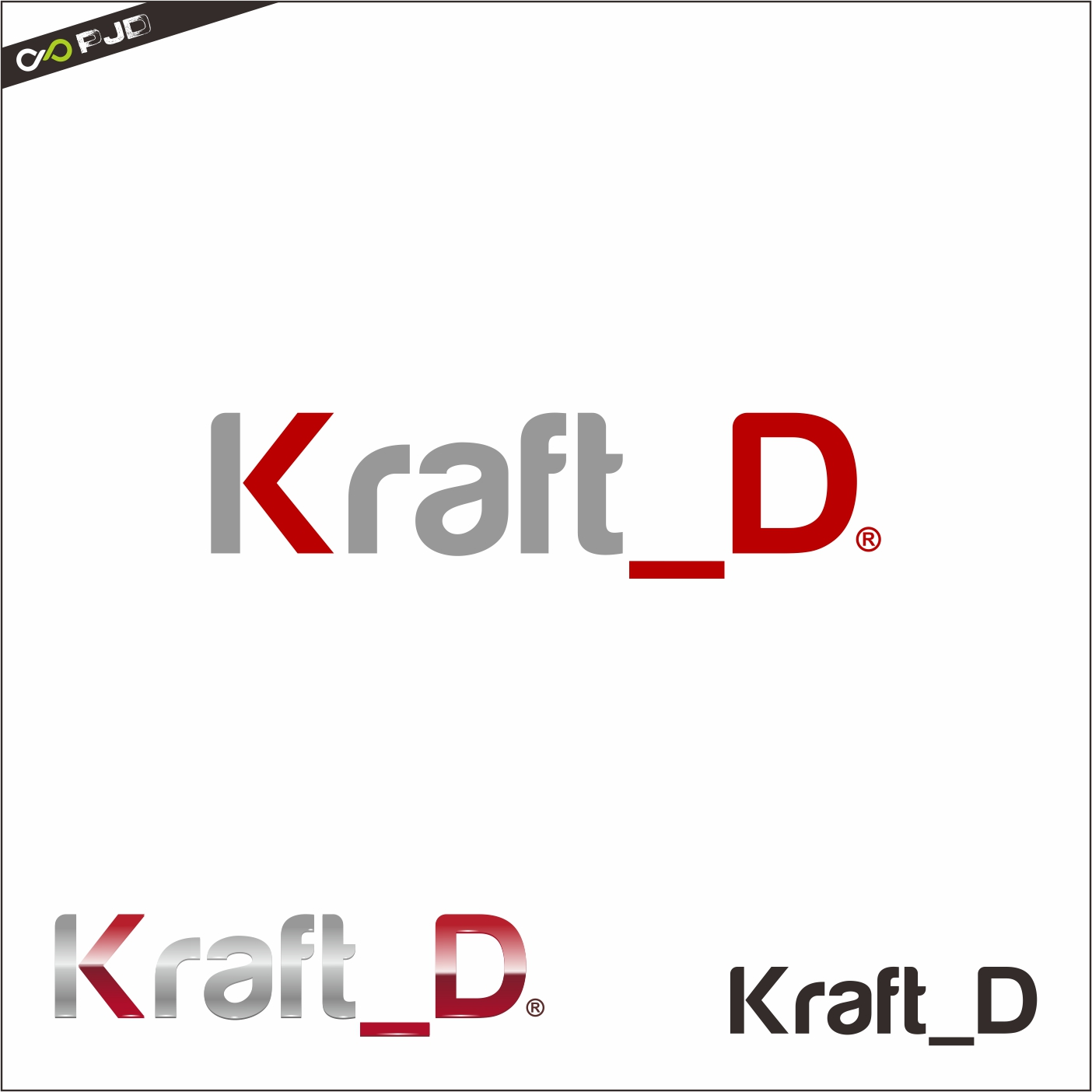Logo Design by PJD - Entry No. 352 in the Logo Design Contest Unique Logo Design Wanted for Kraft D Inc.