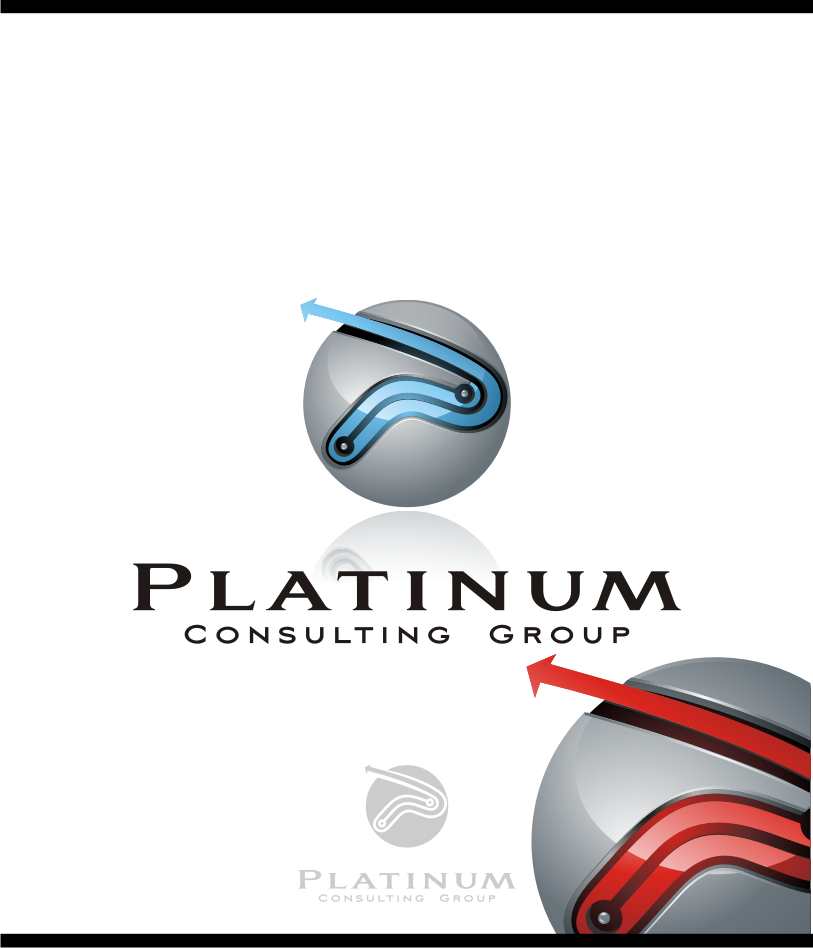 Logo Design by graphicleaf - Entry No. 66 in the Logo Design Contest Captivating Logo Design for Platinum Consulting Group.