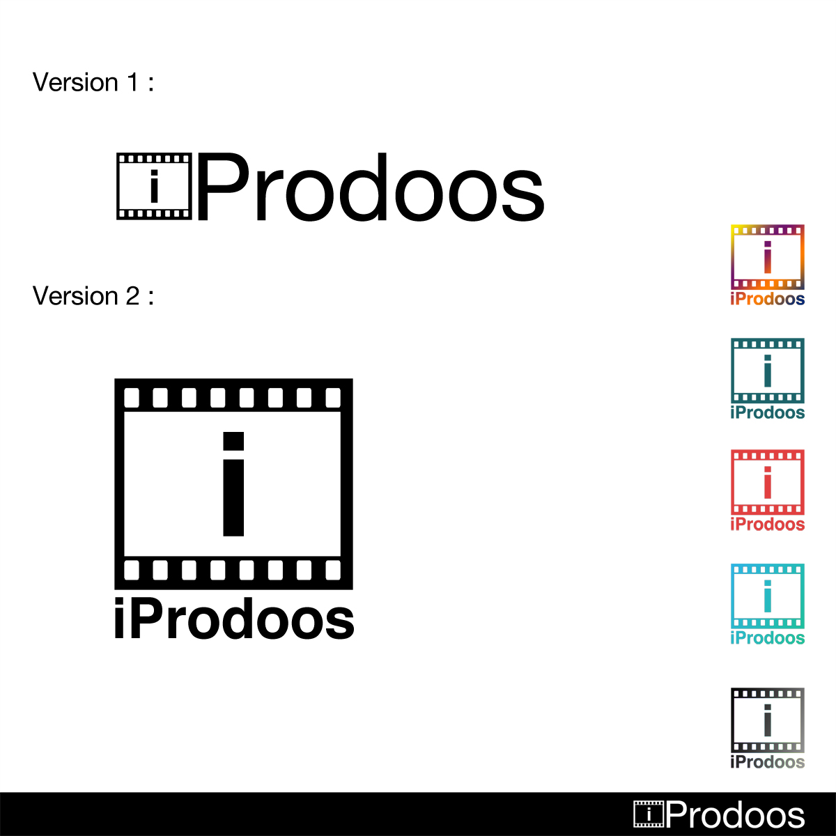 Logo Design by Utkarsh Bhandari - Entry No. 26 in the Logo Design Contest New Logo Design for iProdoos.