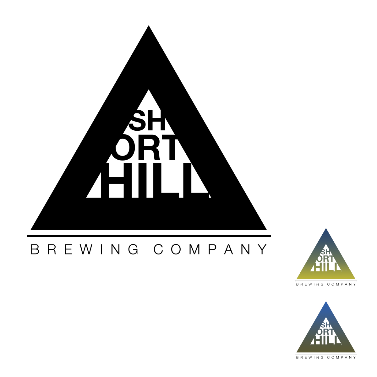 Logo Design by Utkarsh Bhandari - Entry No. 37 in the Logo Design Contest Unique Logo Design Wanted for Short Hill Brewing Company.