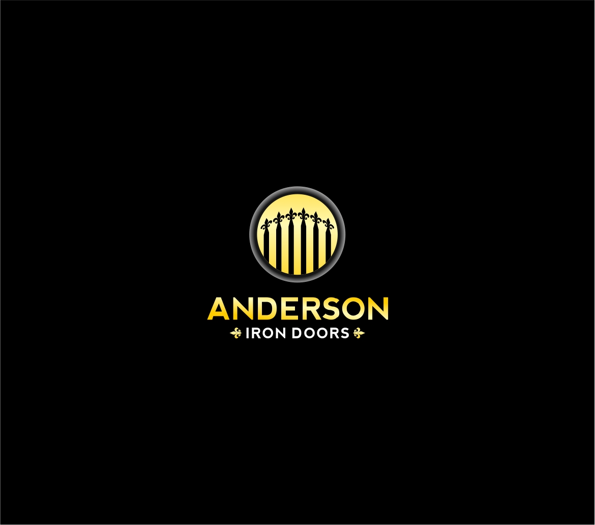 Logo Design by haidu - Entry No. 53 in the Logo Design Contest Artistic Logo Design for Anderson Iron Doors.