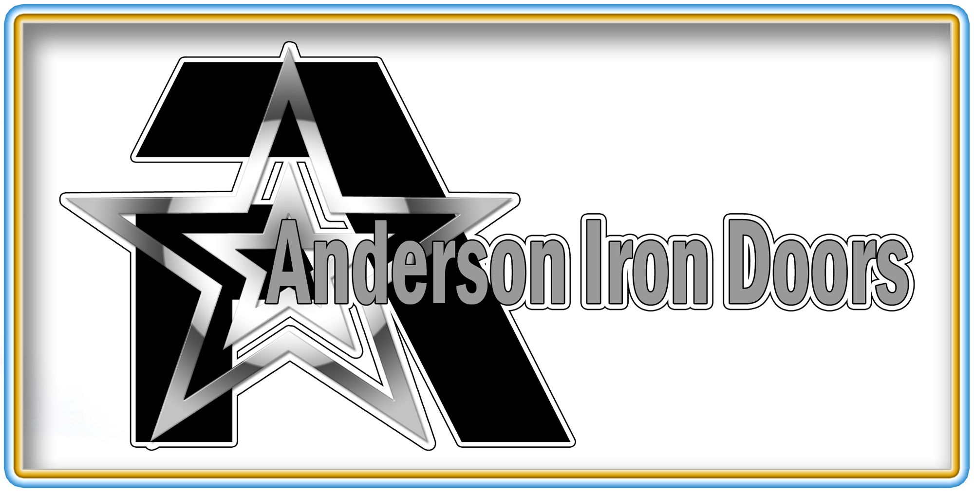 Logo Design by MITUCA ANDREI - Entry No. 56 in the Logo Design Contest Artistic Logo Design for Anderson Iron Doors.