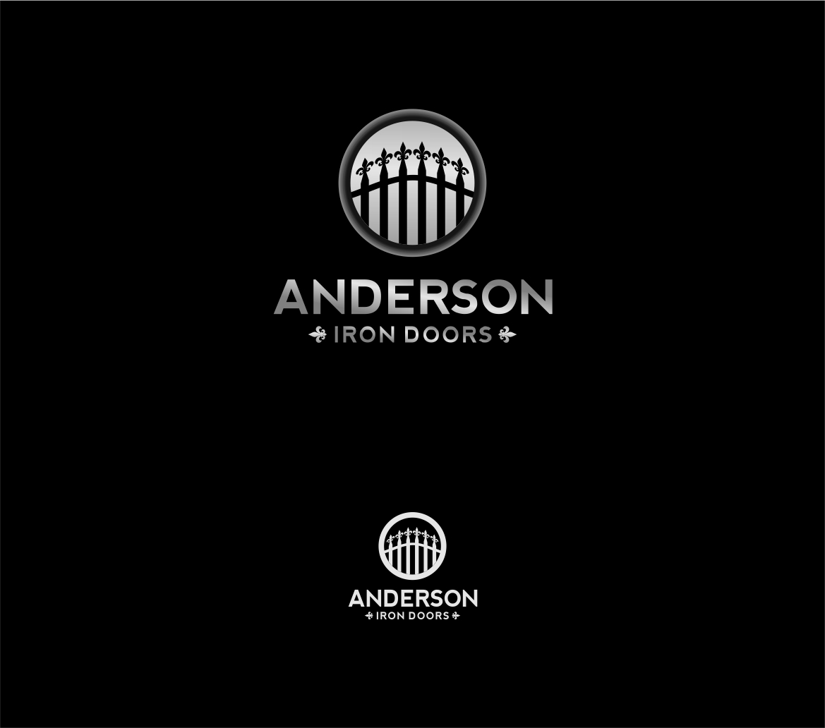 Logo Design by haidu - Entry No. 57 in the Logo Design Contest Artistic Logo Design for Anderson Iron Doors.
