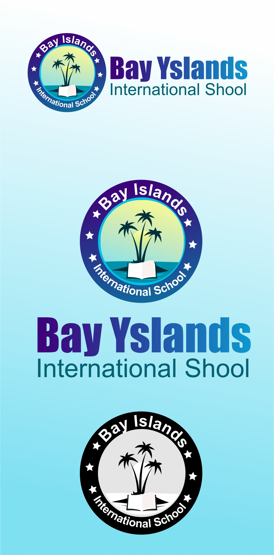 Logo Design by Private User - Entry No. 73 in the Logo Design Contest Creative Logo Design for Bay Islands International School.