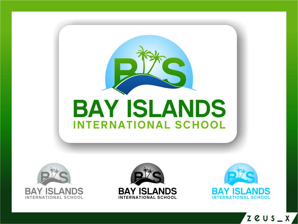 Logo Design by RasYa Muhammad Athaya - Entry No. 75 in the Logo Design Contest Creative Logo Design for Bay Islands International School.