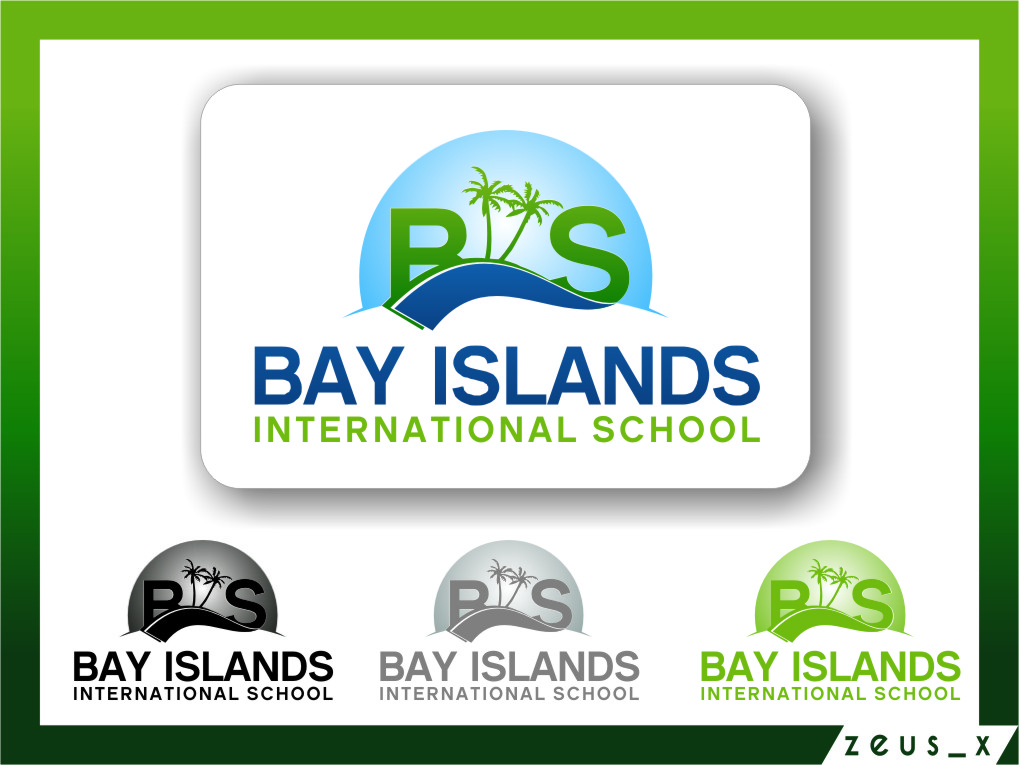 Logo Design by RasYa Muhammad Athaya - Entry No. 76 in the Logo Design Contest Creative Logo Design for Bay Islands International School.