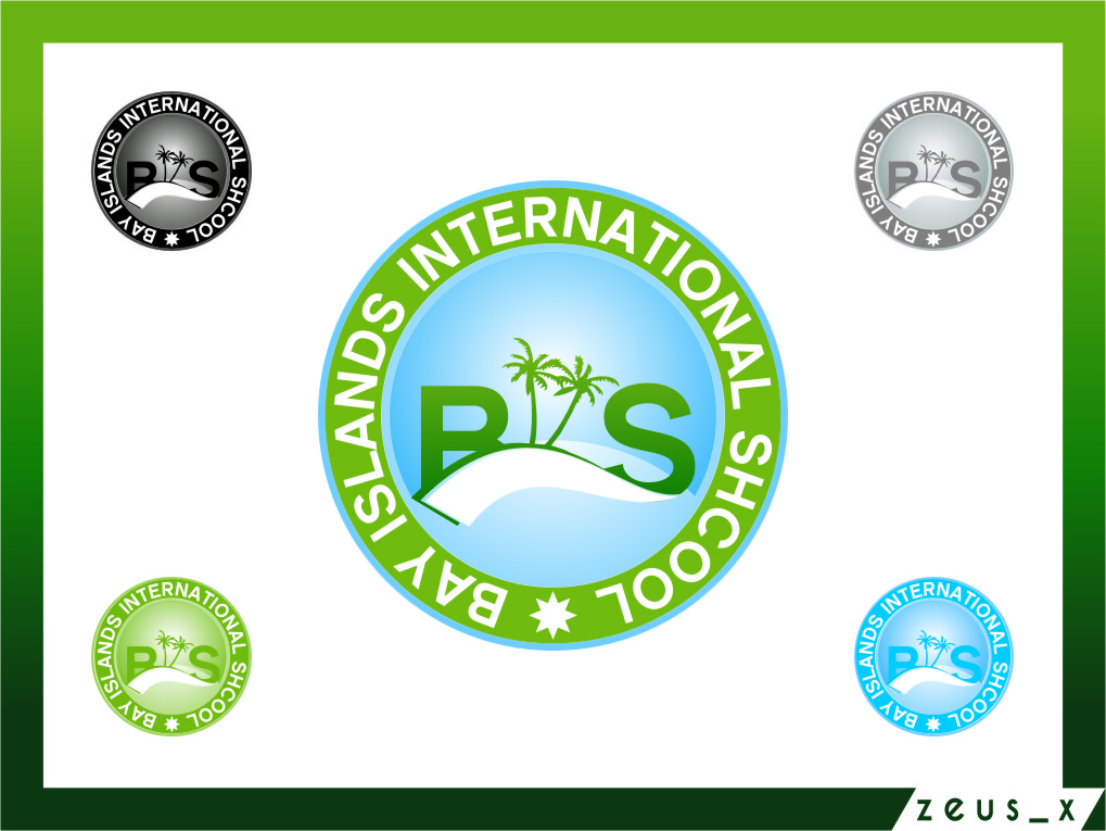 Logo Design by RasYa Muhammad Athaya - Entry No. 77 in the Logo Design Contest Creative Logo Design for Bay Islands International School.