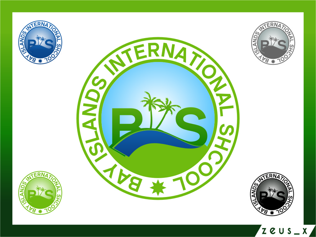 Logo Design by RasYa Muhammad Athaya - Entry No. 79 in the Logo Design Contest Creative Logo Design for Bay Islands International School.