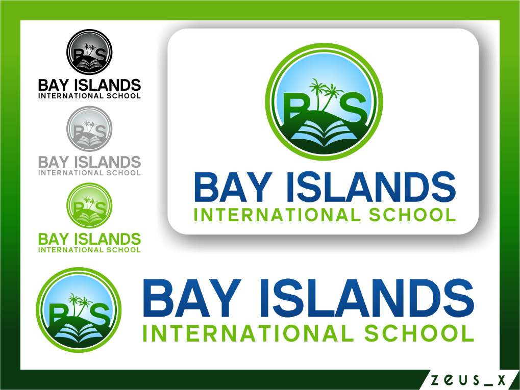 Logo Design by RasYa Muhammad Athaya - Entry No. 80 in the Logo Design Contest Creative Logo Design for Bay Islands International School.