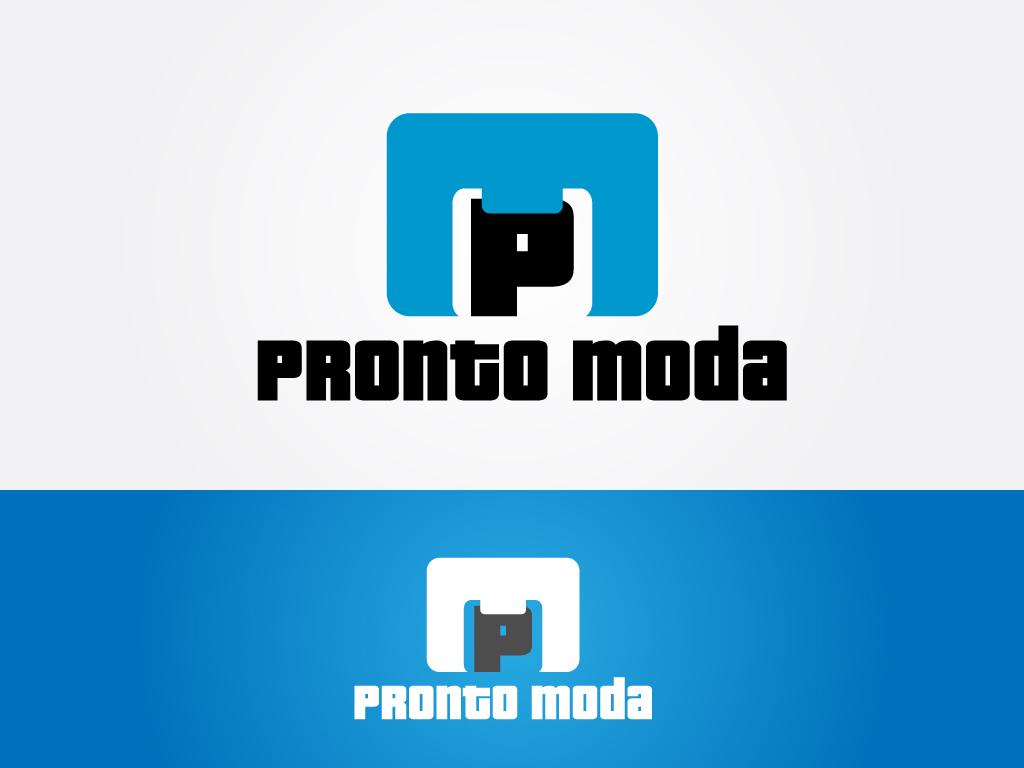 Logo Design by Jagdeep Singh - Entry No. 38 in the Logo Design Contest Captivating Logo Design for Pronto moda.