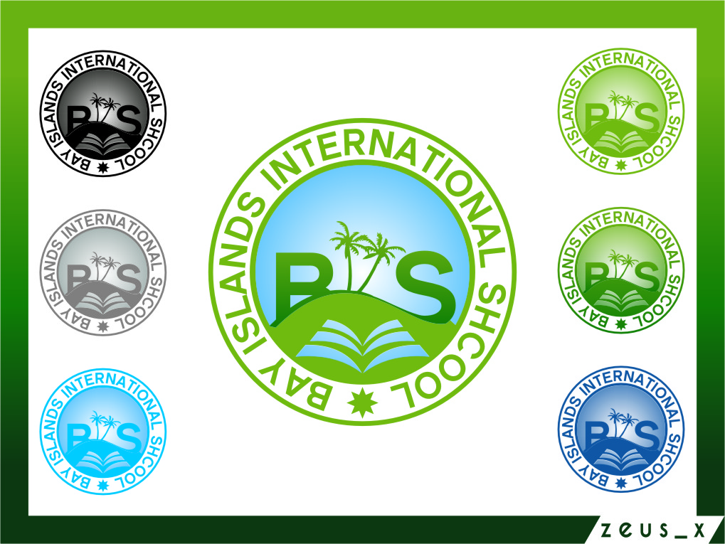 Logo Design by RoSyid Rono-Rene On Java - Entry No. 82 in the Logo Design Contest Creative Logo Design for Bay Islands International School.