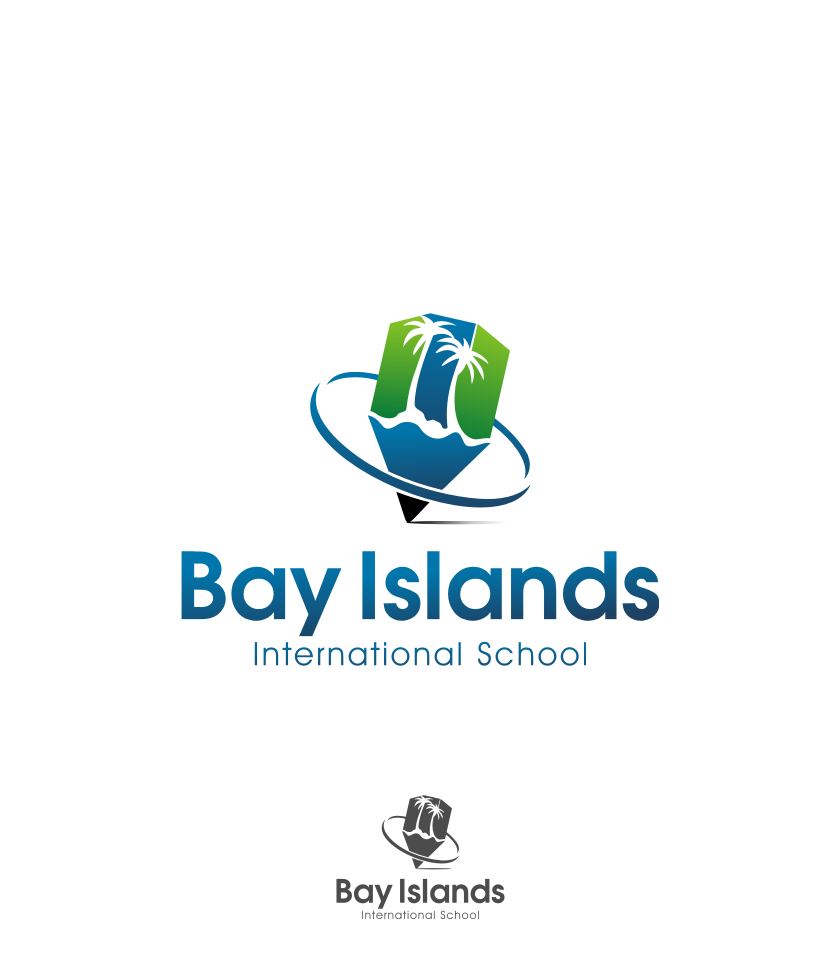 Logo Design by graphicleaf - Entry No. 83 in the Logo Design Contest Creative Logo Design for Bay Islands International School.