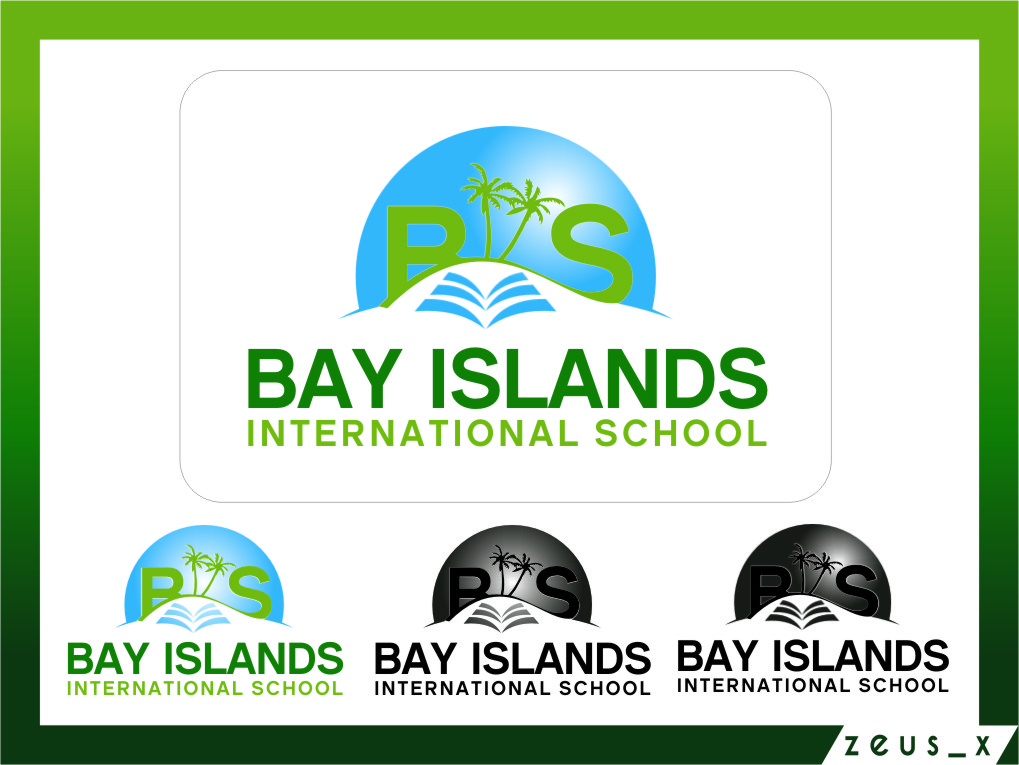 Logo Design by RoSyid Rono-Rene On Java - Entry No. 86 in the Logo Design Contest Creative Logo Design for Bay Islands International School.
