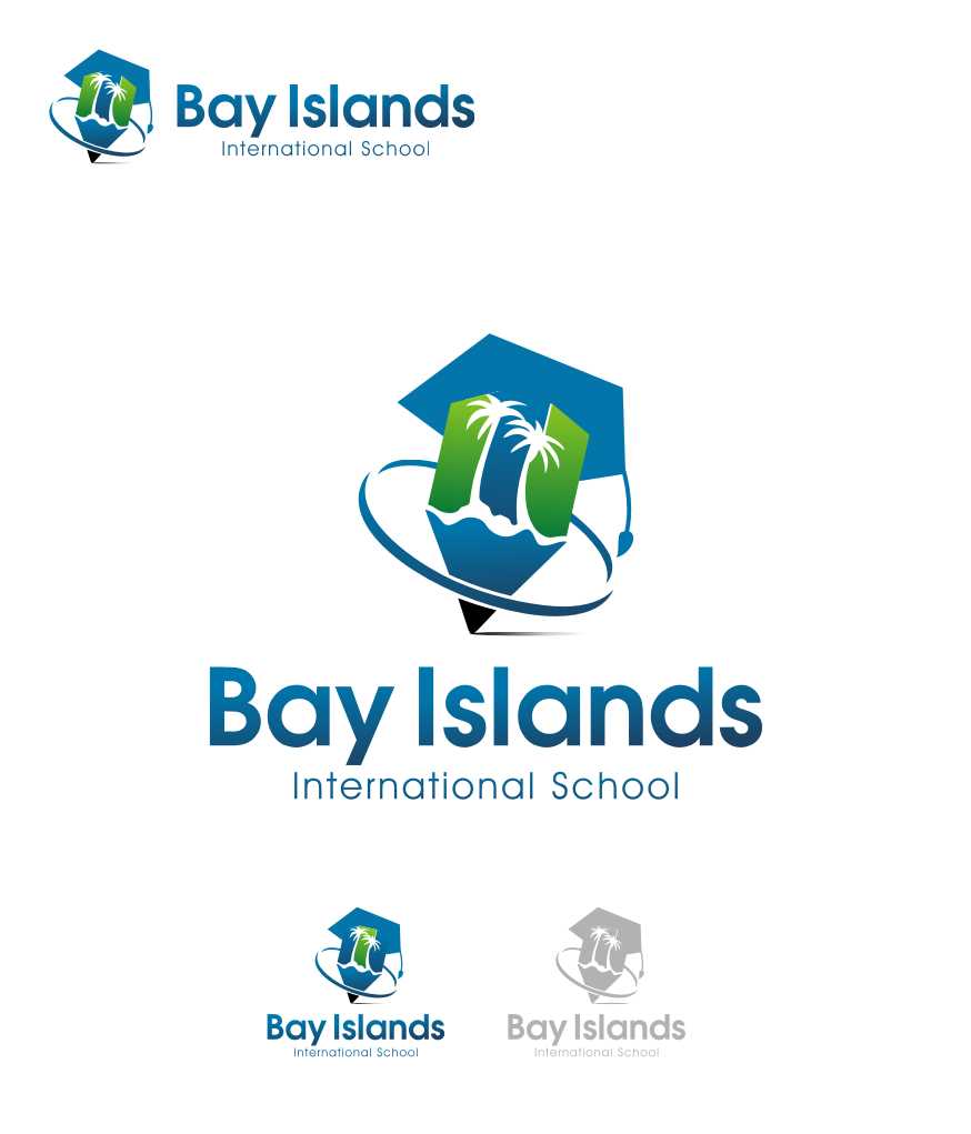 Logo Design by graphicleaf - Entry No. 87 in the Logo Design Contest Creative Logo Design for Bay Islands International School.