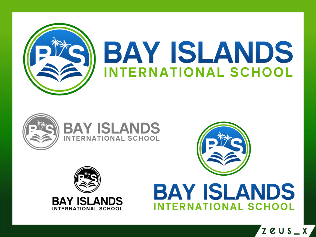 Logo Design by RasYa Muhammad Athaya - Entry No. 89 in the Logo Design Contest Creative Logo Design for Bay Islands International School.