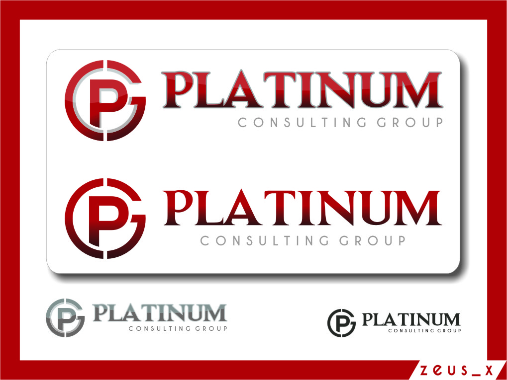 Logo Design by RasYa Muhammad Athaya - Entry No. 73 in the Logo Design Contest Captivating Logo Design for Platinum Consulting Group.