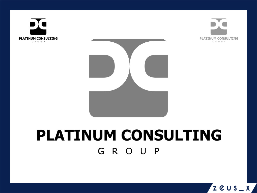 Logo Design by Ngepet_art - Entry No. 74 in the Logo Design Contest Captivating Logo Design for Platinum Consulting Group.