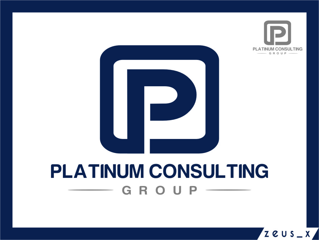Logo Design by RasYa Muhammad Athaya - Entry No. 76 in the Logo Design Contest Captivating Logo Design for Platinum Consulting Group.