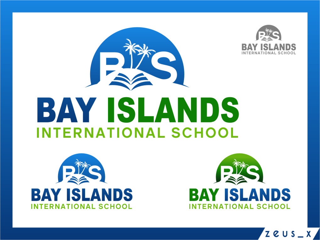 Logo Design by RasYa Muhammad Athaya - Entry No. 92 in the Logo Design Contest Creative Logo Design for Bay Islands International School.