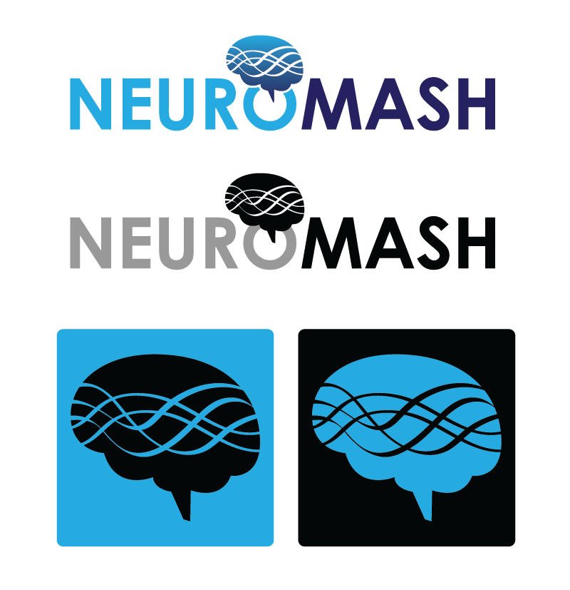 Logo Design by Christina Evans - Entry No. 7 in the Logo Design Contest Unique Logo Design Wanted for NeuroMash.