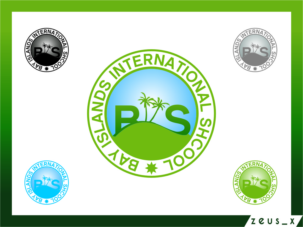 Logo Design by RasYa Muhammad Athaya - Entry No. 93 in the Logo Design Contest Creative Logo Design for Bay Islands International School.