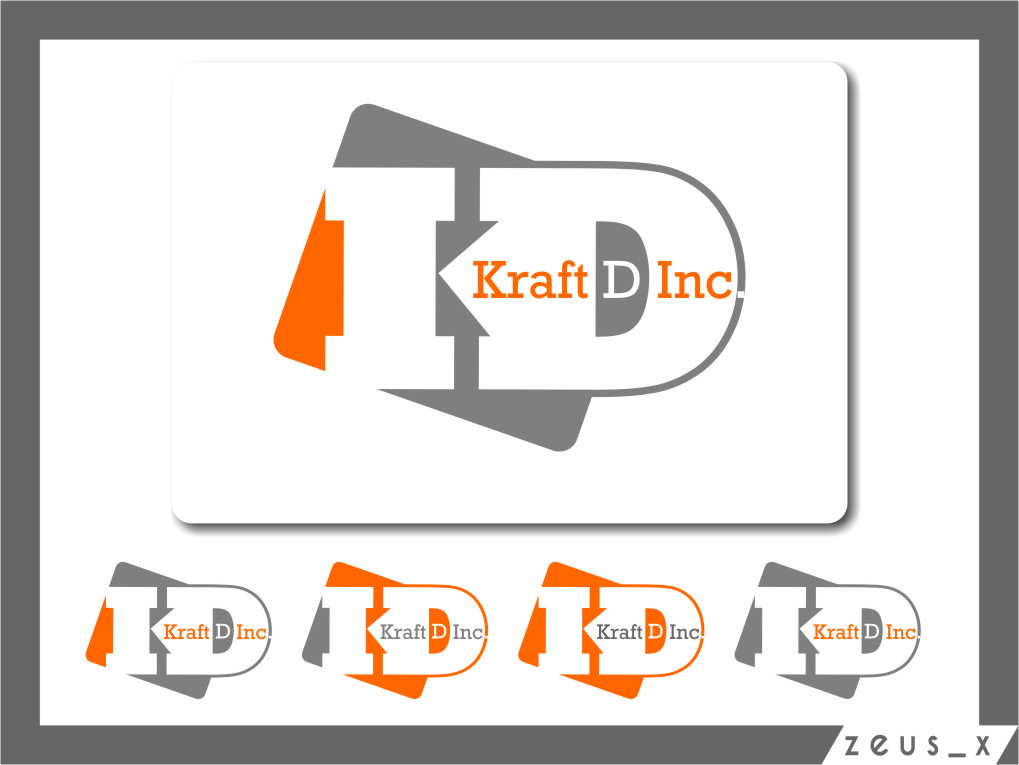 Logo Design by RasYa Muhammad Athaya - Entry No. 357 in the Logo Design Contest Unique Logo Design Wanted for Kraft D Inc.