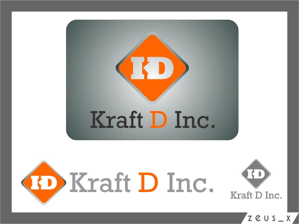 Logo Design by Ngepet_art - Entry No. 359 in the Logo Design Contest Unique Logo Design Wanted for Kraft D Inc.