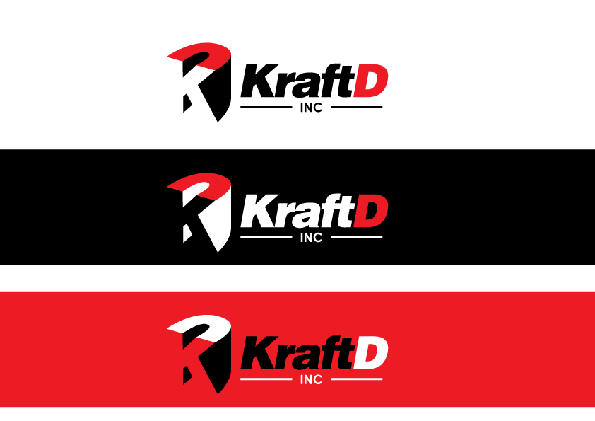 Logo Design by Severiano Fernandes - Entry No. 360 in the Logo Design Contest Unique Logo Design Wanted for Kraft D Inc.