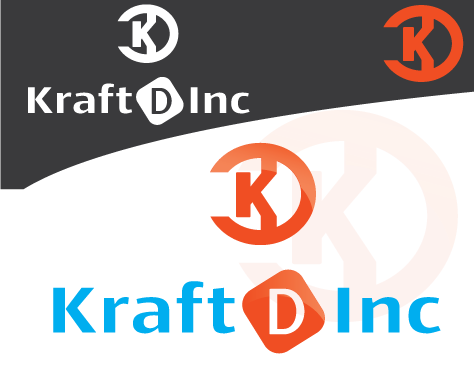 Logo Design by 354studio - Entry No. 364 in the Logo Design Contest Unique Logo Design Wanted for Kraft D Inc.
