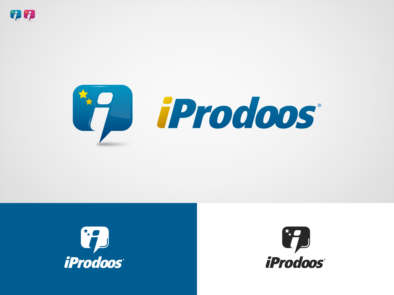 Logo Design by jpbituin - Entry No. 37 in the Logo Design Contest New Logo Design for iProdoos.