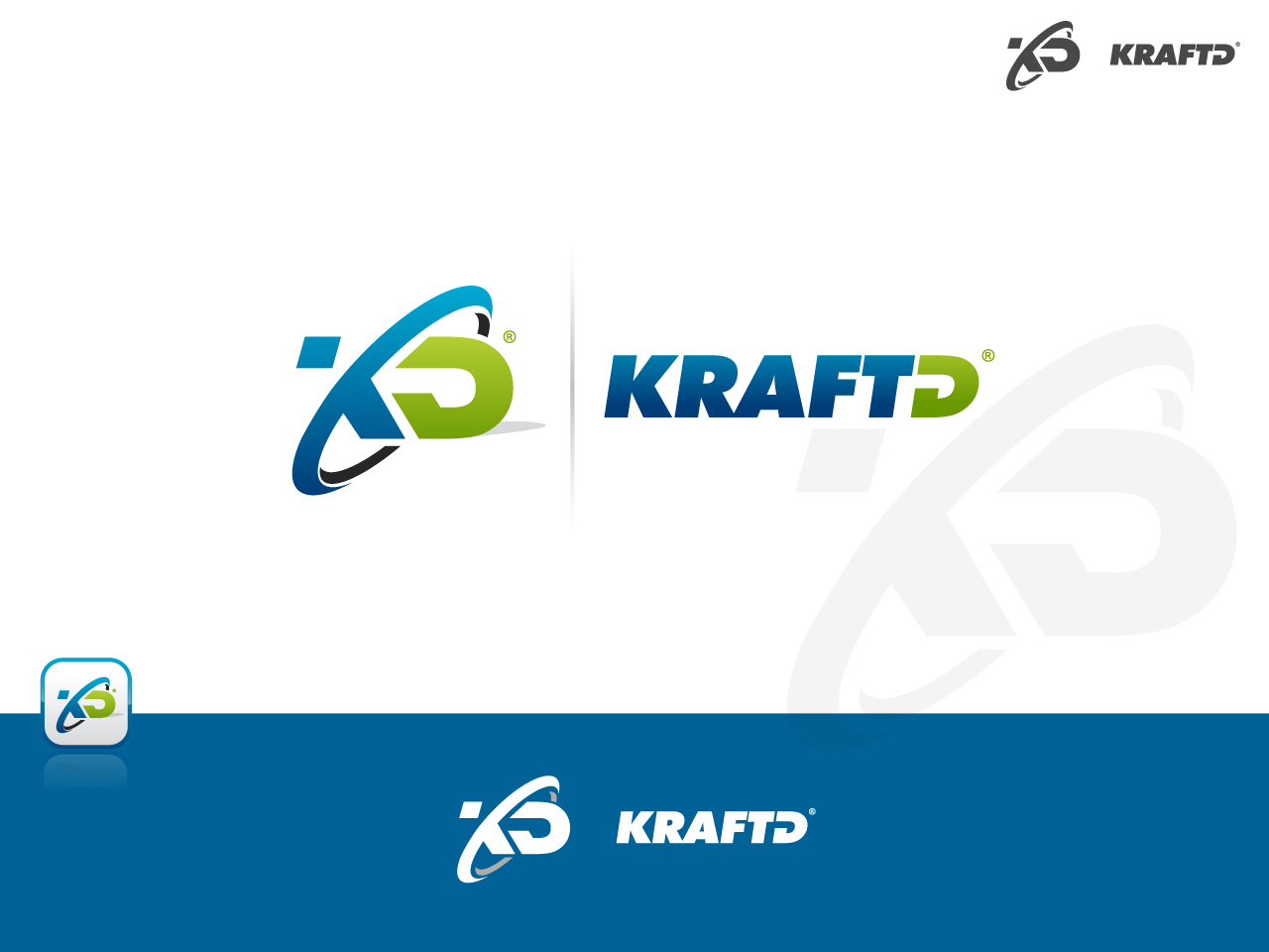Logo Design by jpbituin - Entry No. 367 in the Logo Design Contest Unique Logo Design Wanted for Kraft D Inc.