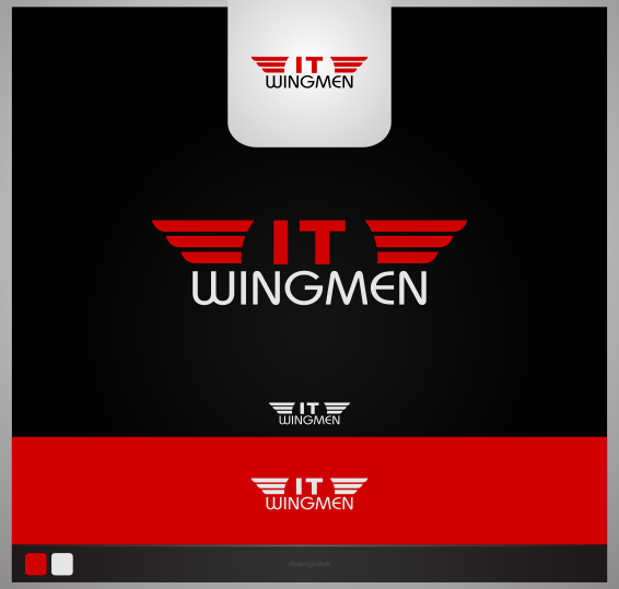 Logo Design by Private User - Entry No. 11 in the Logo Design Contest New Logo Design for IT Wingmen.